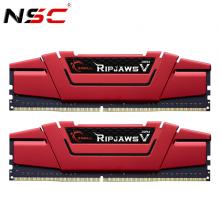 Bộ 2 Thanh RAM PC G.Skill 16GB (8GBx2) Ripjaws Tản Nhiệt DDR4 F4-3000C16D-16GVRB