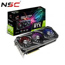 Card màn hình Asus ROG STRIX RTX3090-O24G-GAMING (24GB GDD6X, 384-bit, HDMI +DP, 3x8-pin)