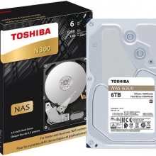 TOSHIBA COLOR LABEL N300 6TB (256MB cache)