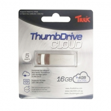 USB Trek ThumbDrive Cloud 16GB + 4GB Extra